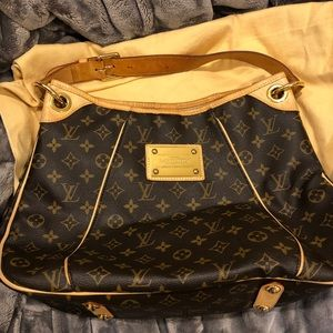 Authentic Louis Vuitton Galliera Monogram PM